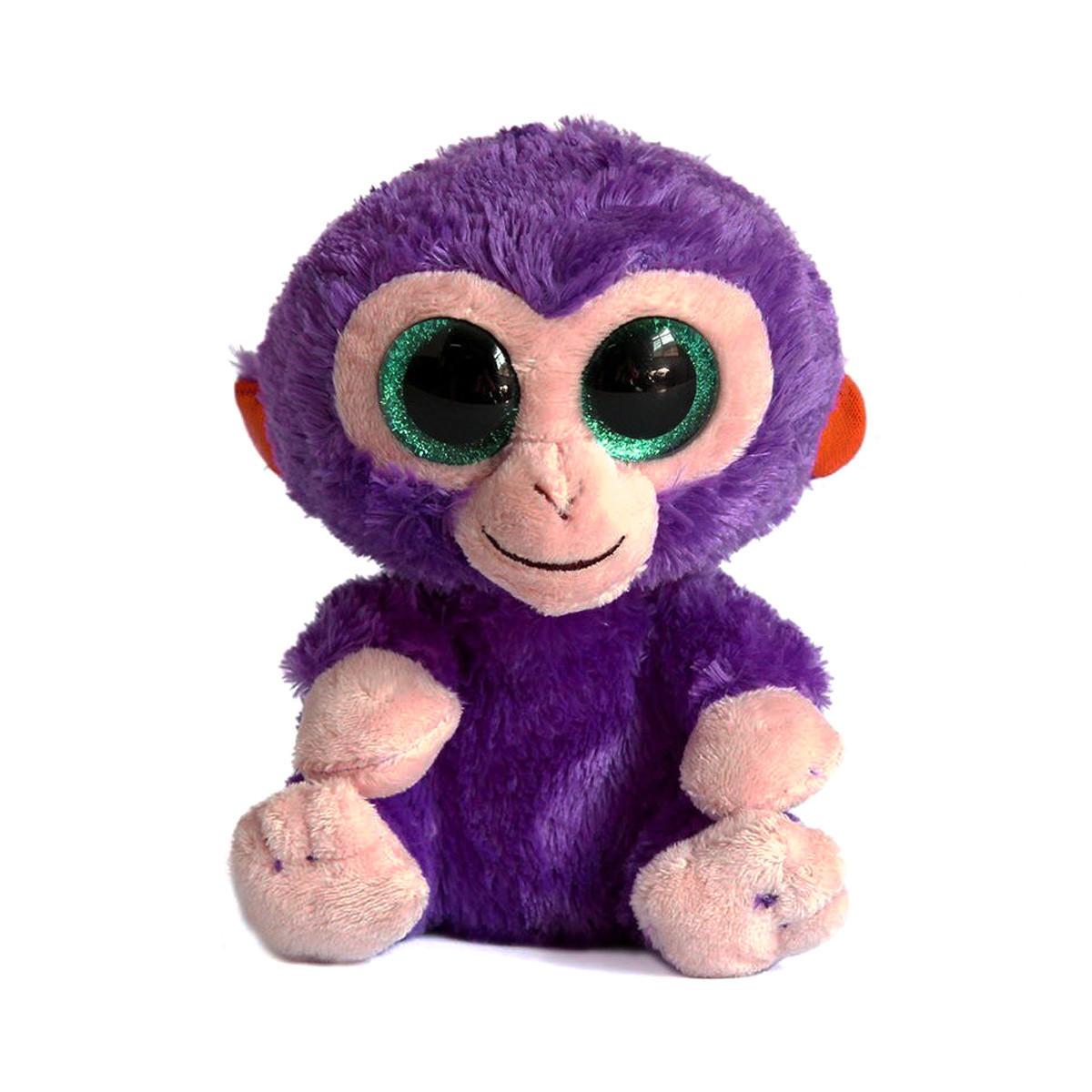 Мягкая игрушка Глазастик: Обезьянка, 16 см