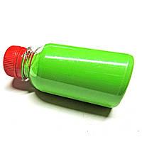 Резиновая краска светло-зелёная 100мл матовая