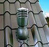 Вентиляционный выход для металлочерепицы высотой волны до 34 мм УТЕПЛЕННЫЙ 110 мм