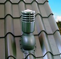 Вентиляционный выход для металлочерепицы высотой волны до 34 мм УТЕПЛЕННЫЙ 110 мм, фото 1