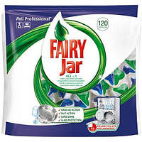 Таблетки для посудомоечных машин Fairy Jar All-in-1, 115 шт.