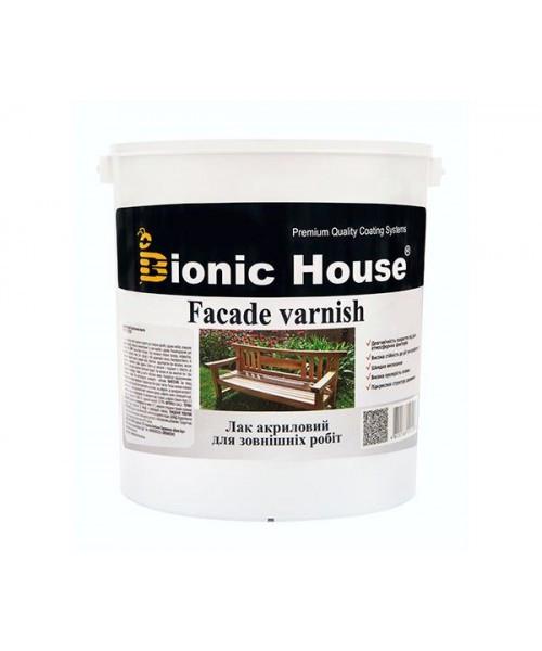 Лак Bionic-House для наружных работ (Водорастворимый лак) 10л