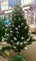 Искусственная Ель 150 см Заснеженная ПВХ Елка Новогодняя 1,5 метра