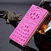 """SAMSUNG S6 EDGE G925 Оригинальный чехол книжка ПРЕМИУМ КОЖА для телефона """"ROYAL CROCODYLE SIDE"""", фото 5"""