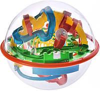 Игрушка-головоломка 3D шар-лабиринт (16 см) Maze Ball (927A)