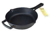 Сковорода чугунная 26 см Brizoll М2660Р