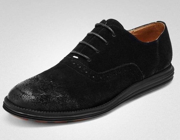 Ботинки теплые с потертостями