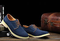 Туфли в замше