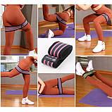 Резинка для фитнеса U-Powex-Pro Набор из 3 резинок, фото 5