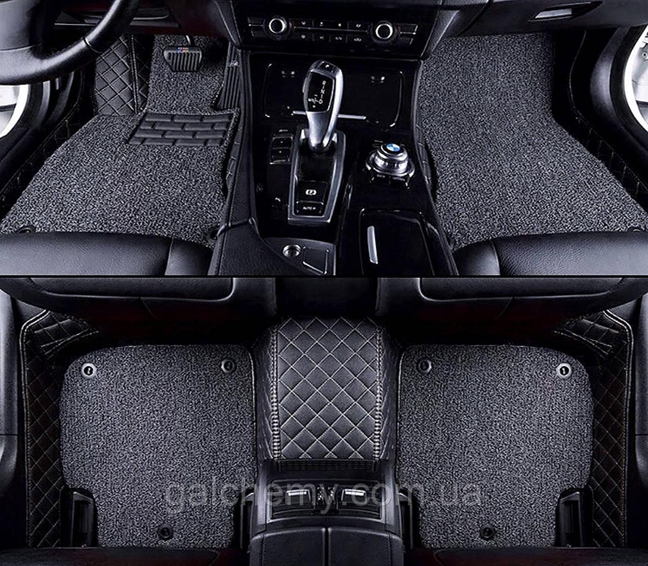 Коврики Комплект Ворс Пвх Toyota Land Cruiser 200 7 мест 2016-