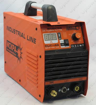 Аппарат плазменной резки 4300 Вт / 40 А / 12 мм Искра CUT-40, фото 2