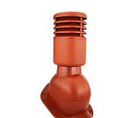 Вентиляционный выход для металлочерепицы высотой волны до 44 мм УТЕПЛЕННЫЙ 150 мм
