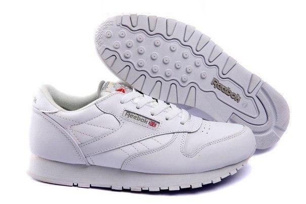 Кожаные кроссовки Reebok Сlassic