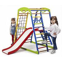 Детский спортивный комплекс для дома SportWood Plus 2 DU-38