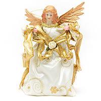 Новогодний сувенир - Феи, 18 см, белый (180387-5)