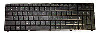 Клавиатура для ноутбука ASUS (A52, K52, X54, N53, N61, N73, N90, P53, X54, X55, X61), rus, black, подсветка клавиш (K52 version)