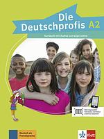 Die Deutschprofis A2 Kursbuch mit Audios und Clips online. Немецкий язык