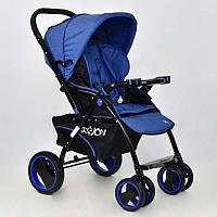Коляска детская синяя - 183370