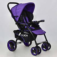 Коляска детская Т 100 1 цвет Фиолетовый - 183371