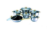 Набор посуды 12 пр Martex 26-211-007