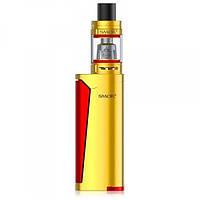 Электронная сигарета Smok PRIV V8 Kit Yellow/Red стартовый набор испаритель атомайзер