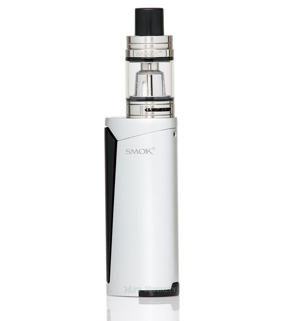 Электронная сигарета Smok PRIV V8 Kit Silver/Black стартовый набор испаритель атомайзер