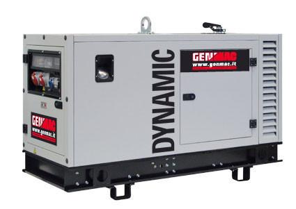 Трехфазный дизельный генератор Genmac Dynamic G15PSM (17 кВа)