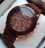 Часы наручные Geneva Сhocolate, женские часы Женева Шоколад