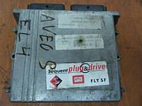 CHEVROLET AVEO 1.2 DE815130 блок управления двигателем  газ lpg