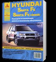 Книга / Руководство по ремонту HYUNDAI SANTA FE / SANTA FE CLASSIC с 2000 бензин / дизель | Атласы Авто, Арго (Россия)