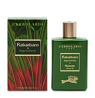 Lerbolario. Пенна для ванн Ревень, 250мл (2214010003588)