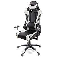 Кресло игровое АКЛАС Хорнет PL RL Белое (06154), фото 1