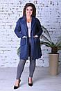 Женское пальто кардиган Еленина №2893, фото 2