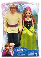 Холодное сердце Набор кукол Кристоф и Анна Холодное сердце Anna & Kristoff Frozen Disney из США