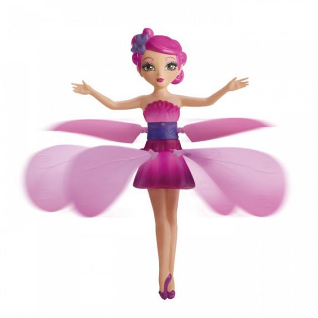 Кукла Летающая Фея  Happiness розовая 15 см