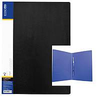 Папка -скоросшиватель A4 с карманом E31207, Clip A Light уп20