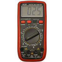 Высокочувуствительный универсальный портативный мультиметр DT VC 61 | цифровой измеритель емкости