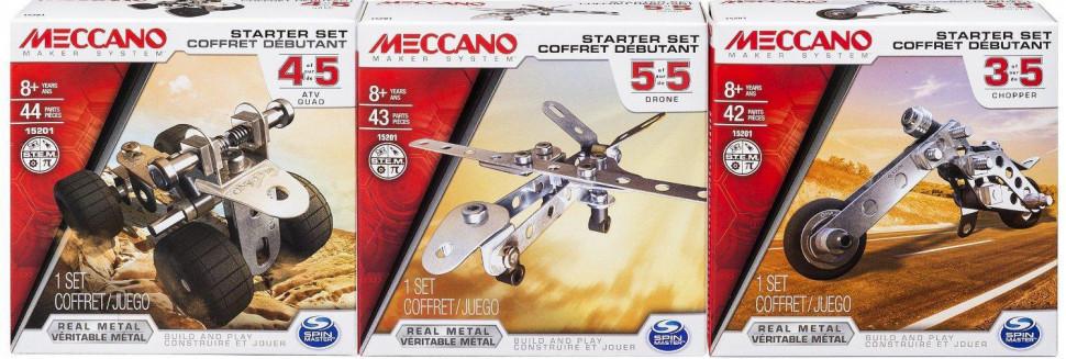 Детский Конструктор Meccano Стартовий Набор 6026713