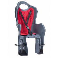 Детское велокресло Elibas P HTP design на багажник, темно-серое (CHR-007-1)