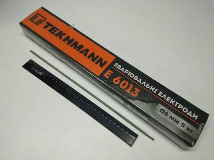 Электроды сварочные TEKHMANN Е 6013  d 4 мм х 5 кг  (цена за упак.)