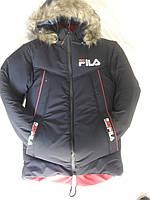 Купить зимнюю куртку на мальчика подростка на синтепон( 8-13лет)  оптом со склада в Одессе.