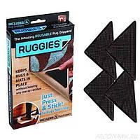 Держатель для ковров на липучках Ruggies | уголки - держатели для ковра