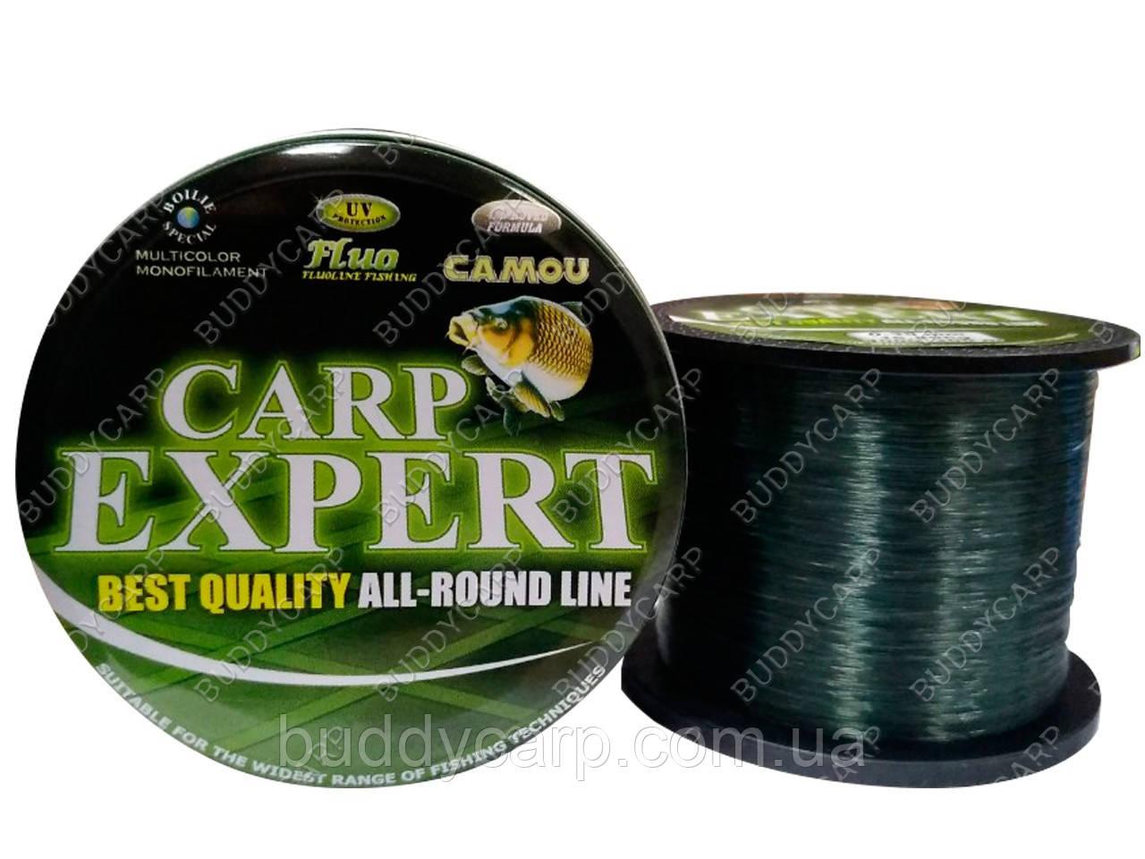Леска 0.40 мм 20.6 кг 1000+200 метров Dark-Green Carp Expert