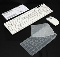 Комплект беспроводной клавиатуры с мышью JX-906 / K-06, фото 1