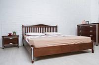 Монако кровать  с патиной и фрезеровкой