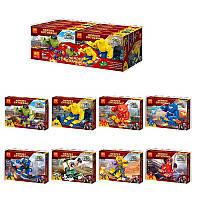Конструктор типа лего, набор супергероев из Мстителей - 8 штук, 34080