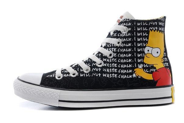 Кеды Converse All Star серии Simpsons