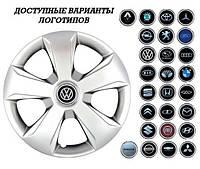 """Колпаки SJS (Турция), 15"""" 331 Peugeot (к-т 4 шт) + эмблема на выбор"""