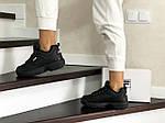 Жіночі зимові кросівки Fila (чорні), фото 5