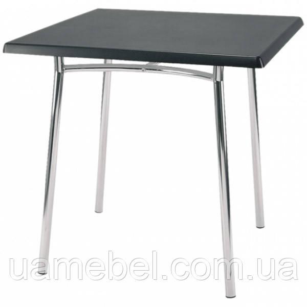 Обеденный стол Tiramisu (Тирамису) chrome/alu